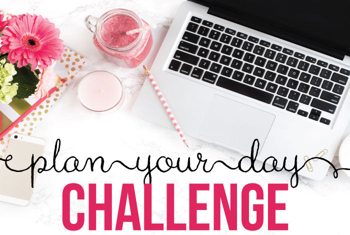 Plan Your Day Challenge