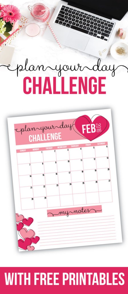 Need help planning your days so you can be more productive? Join us for the plan your days challenge! You'll also get a free printable daily docket and challenge tracker.