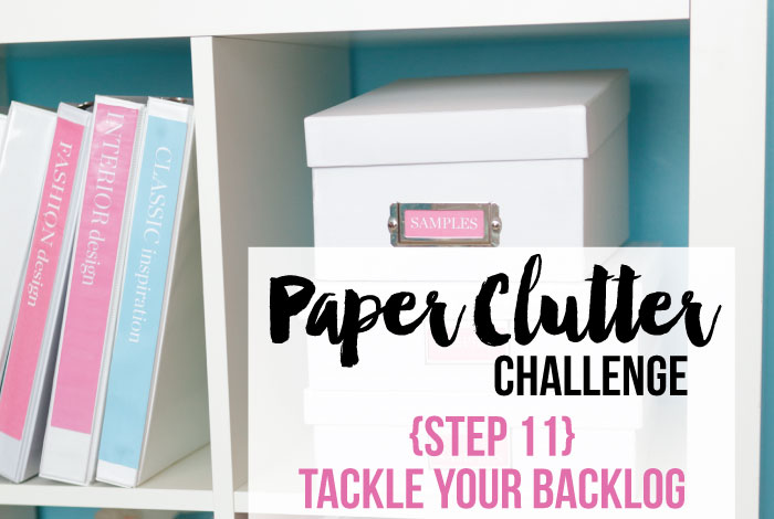 Tackle Your Backlog of Papers {Step 11}
