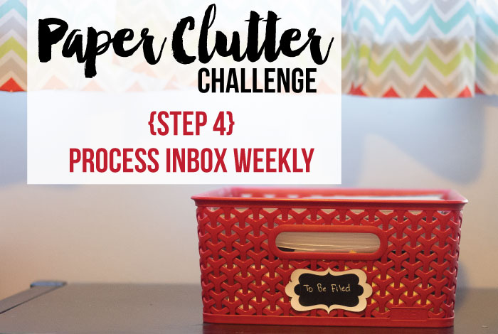 Join the paper clutter challenge.