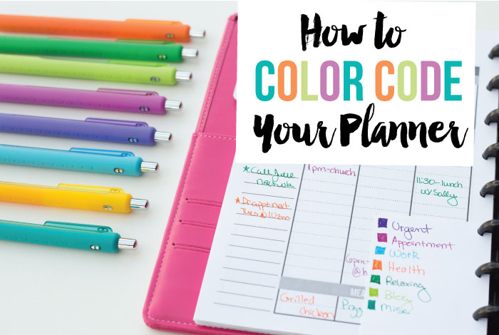 Html Calendar Planner Code : How to color code your planner i heart planners