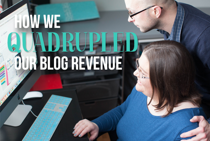 How We Quadrupled Our Blog Revenue