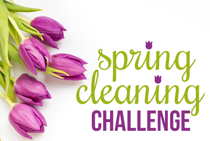 Spring cleaning challenge i heart planners What month is spring cleaning