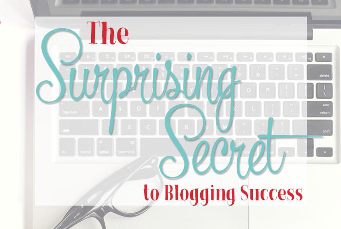 The Surprising Secret to Blogging Success