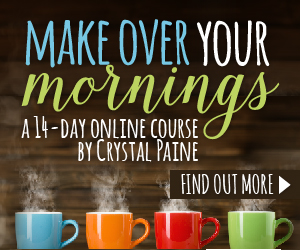 Make Over Your Mornings - iheartplanners.com