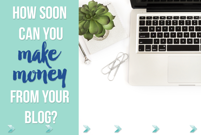 How Soon Can You Make Money From Your Blog?