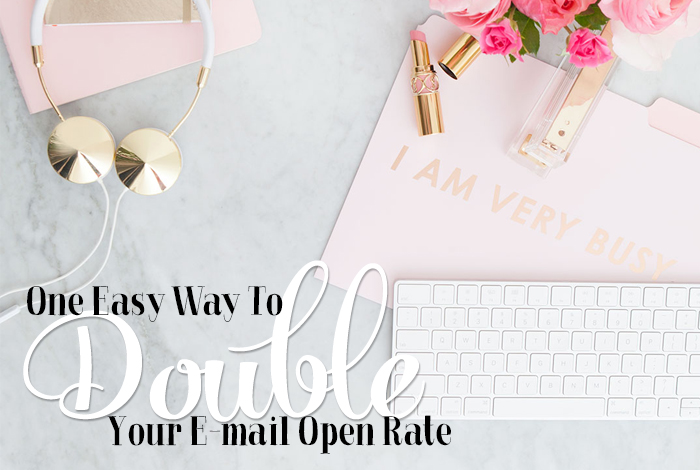 One Easy Way to Double Your Email Open Rate