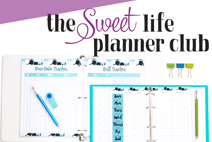 The Sweet Life Planner Club is Reopening!
