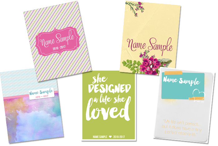 Sweet Life Planner Club BONUS: a customized planner cover when you join now!! - iheartplanners.com