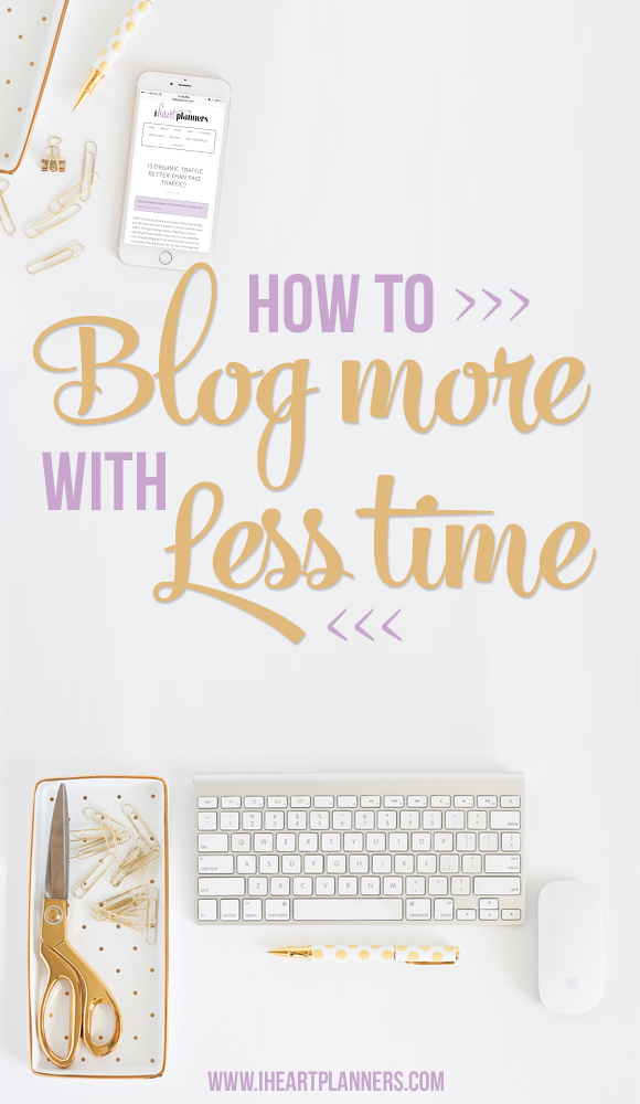 You want to blog more, but you just don't have enough time! I'm sharing my secret for getting blog posts written in the shortest amount of time possible.