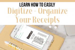Easily Digitize & Organize Receipts