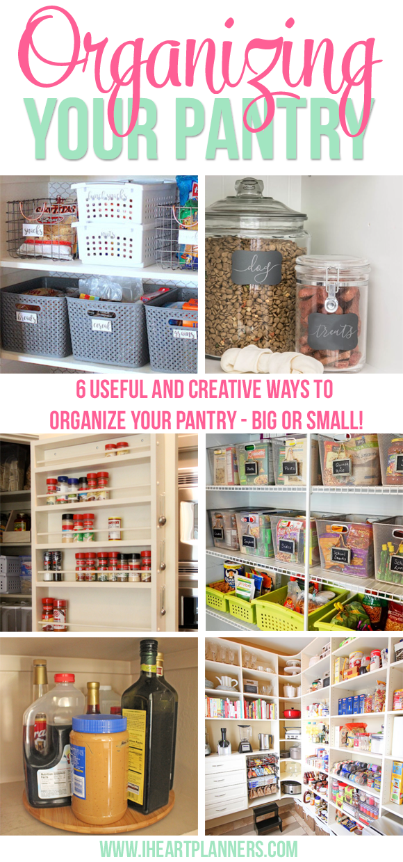 pantry organization ideas for your home i heart planners