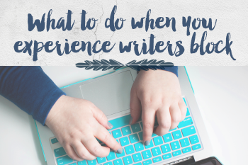 If you've been blogging for any length of time, I bet you've experienced your fair share of writer's block. Here are my suggestions for what you can do when it hits and my best tip for overcoming it completely. - iheartplanners.com