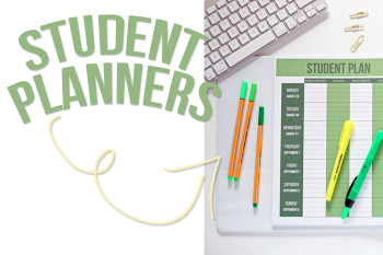 Feature alert: editable headings in the PDF download of all Student Planners available in the Sweet Life Planner Club! Easy to edit for your classes and topics and then automatically populate the whole PDF. Come visit the blog for a how-to and more details about the Club - iheartplanners.com