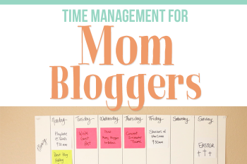 """Time management and productivity advice from mom and e-book author, Suzi from Start a Mom Blog. She shares powerful tips like having a """"no"""" list and keeping your system simple and actionable things you can do today to get better at time management."""