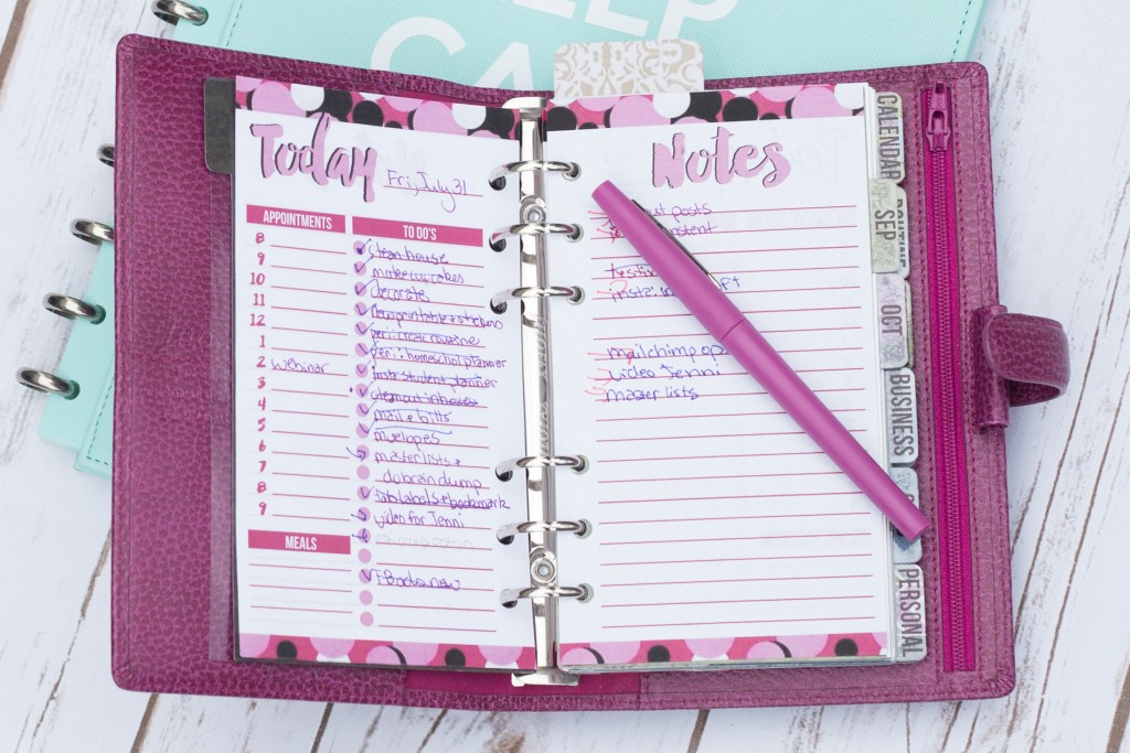 So, guess what? Your planner won't help you get more done. There I said it. Now, before you think I've completely lost my marbles, hear me out. I think planners, planning, and time management techniques are amazing and useful tools. I happen to love pretty printables (in case you haven't noticed). However, despite trying to use all these tools, I still feel overwhelmed. Here's why... - iheartplanners.com