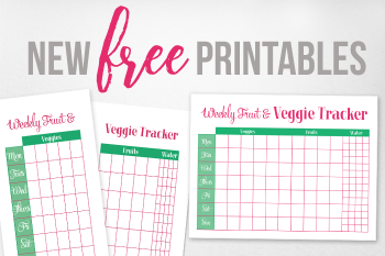 Free Printable Fruit & Veggie Tracker