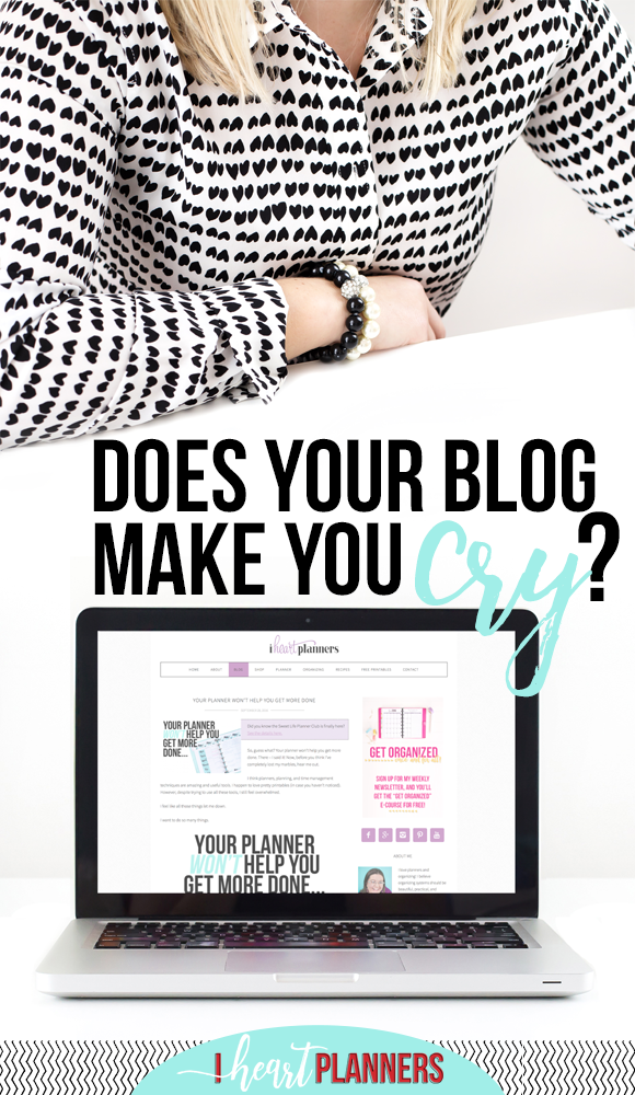 Does Your Blog Make You Cry?