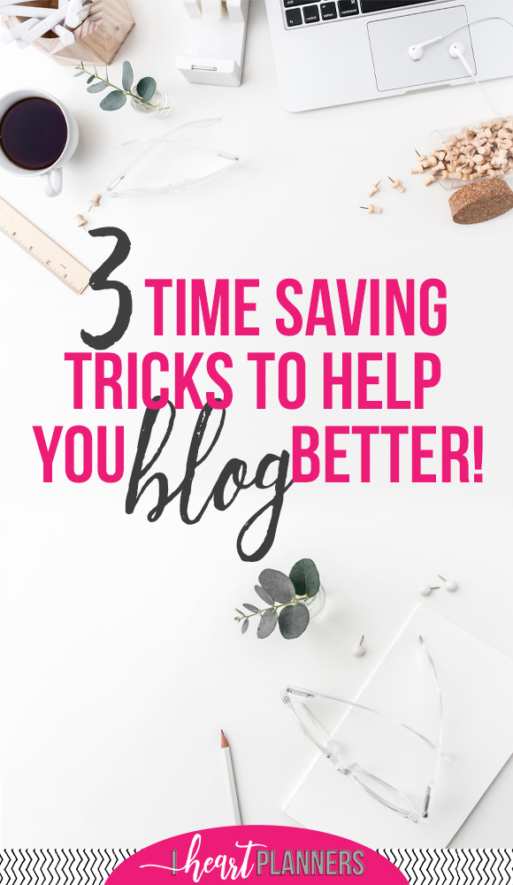 I want to share three practical strategies that will both save you time on your blog and will be a huge benefit for your readers. - www.iheartplanners.com