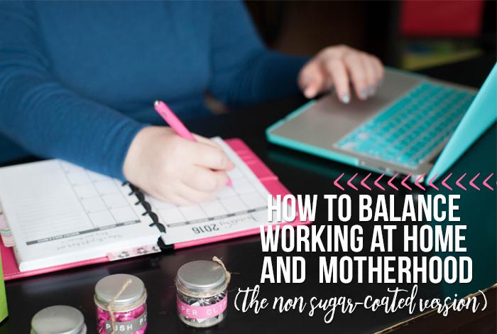How I Balance Working and Motherhood as a WAHM