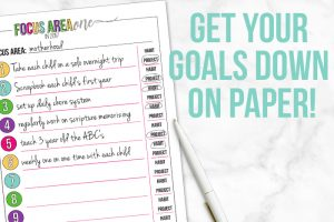 Goal Setting Process – Part 2