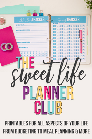 Sweet Life Planner Club