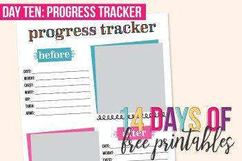 Day 10: Progress Tracker