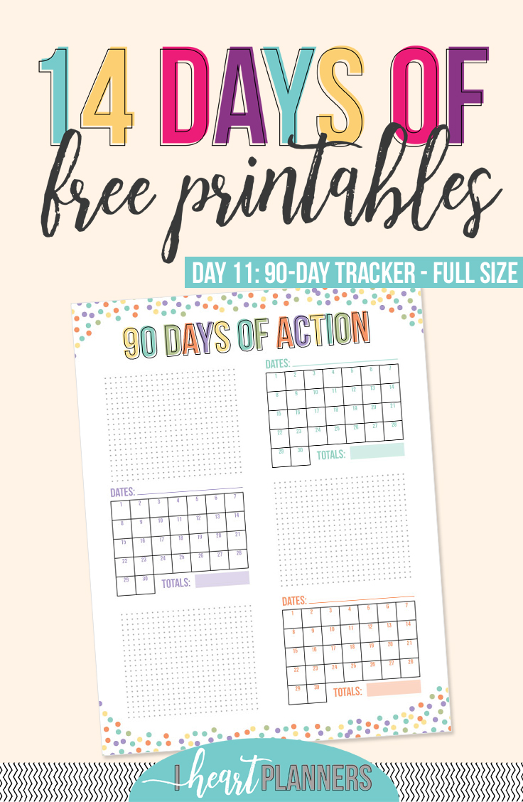 Free Printable | Action Planner | Goal Planner | Goal Tracking