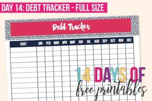 Day 14: Debt Tracker