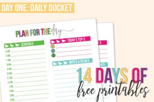 Day 1: Daily Docket – Full Size