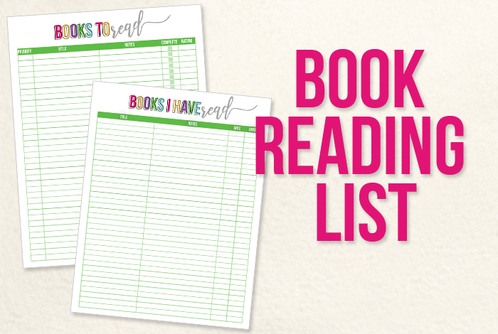 picture relating to Who Was Book Series Printable List identify Cost-free Printable Studying Checklist - I Middle Planners