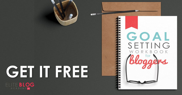 Goal setting workbook. Get it free today - www.iheartplanners.com