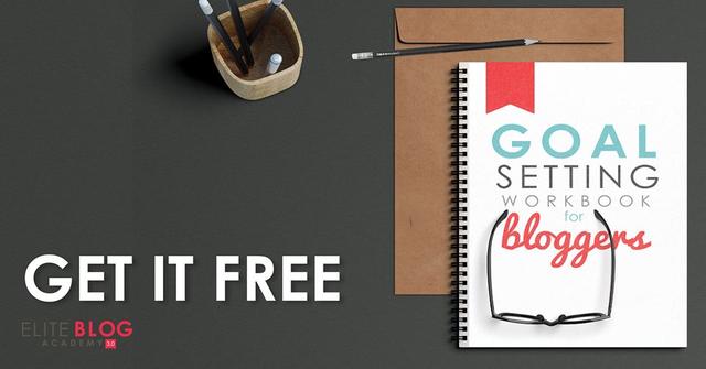 Goal setting workbook. Get it free today - www.iheartplanners.com
