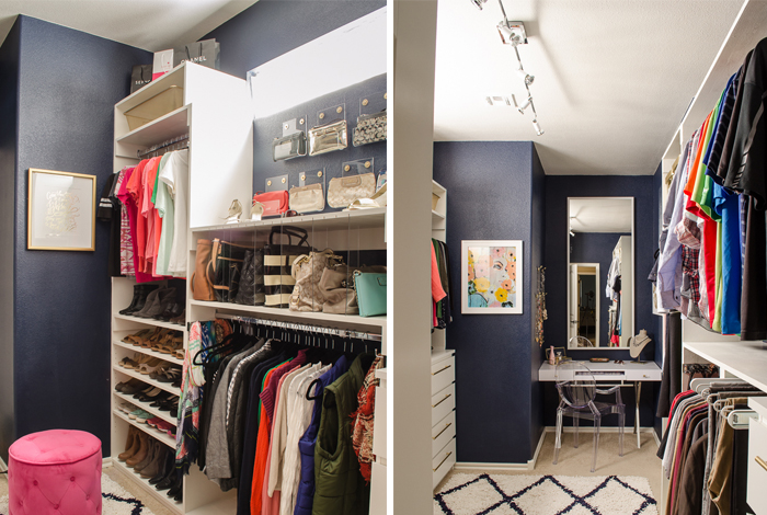 I Recently Completely Reorganized Our Master Closet (details Coming Soon),  So I Definitely