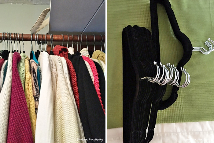 I recently completely reorganized our master closet (details coming soon), so I definitely have closets on my mind. I also feel like spring is a great time to tackle projects like that.   I wanted to share some of my favorite closet organizing inspiration from around the web if you're looking to refresh your own closet. Here's 6 ways that inspired me. - iheartplanners.com