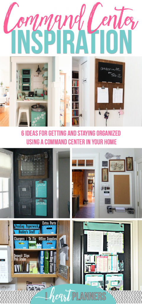 Create Your Own Command Center - Loads of beautiful family command center inspiration