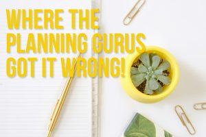 Where the Planning Gurus Got It Wrong