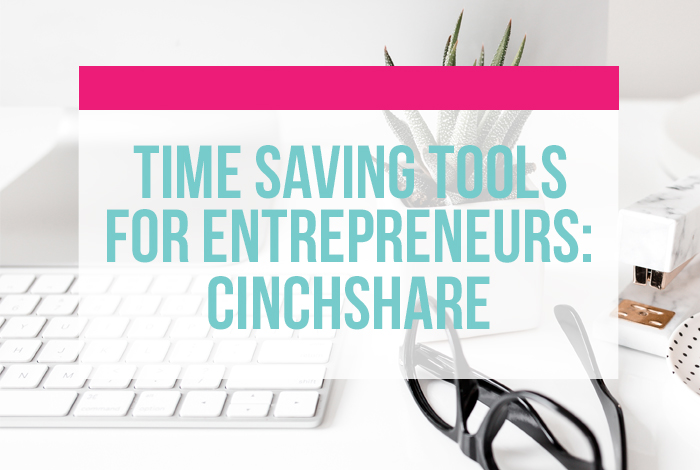 Time saving tools for entrepreneurs: CinchShare - a social media scheduler. Walk-through and video tutorial from iheartplanners.com