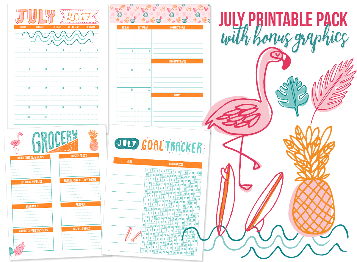 Monthly Calendar You Can Edit : Free printables you can edit i heart planners
