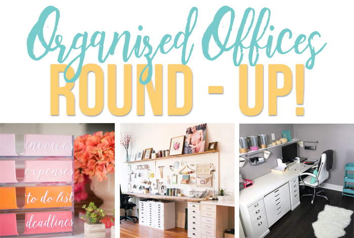"6 of the best ""function meets beauty"" organized office spaces for inspiration. - iheartplanners.com"