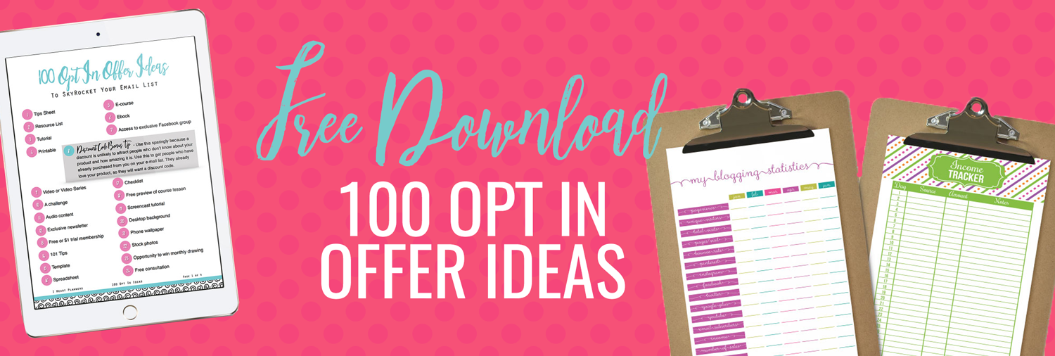 How To Grow Your Email List With a Free Opt In