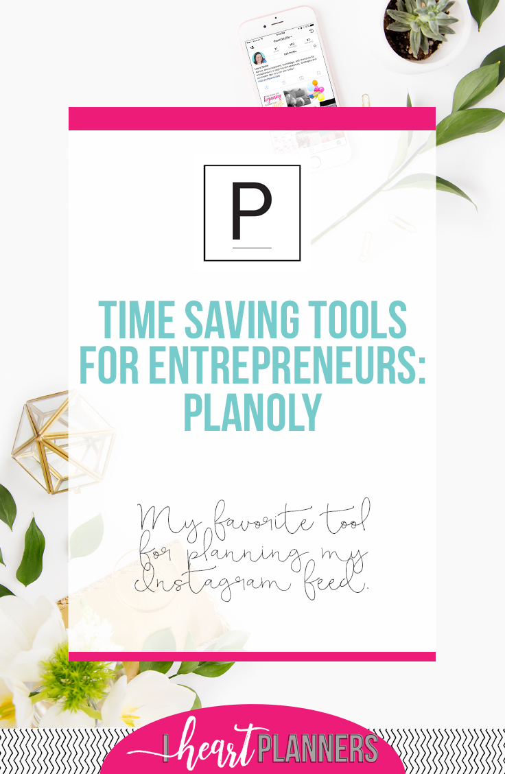Video walk-through and tutorial of Planoly - my favorite tool for planning out my Instagram feed. - iheartplanners.com