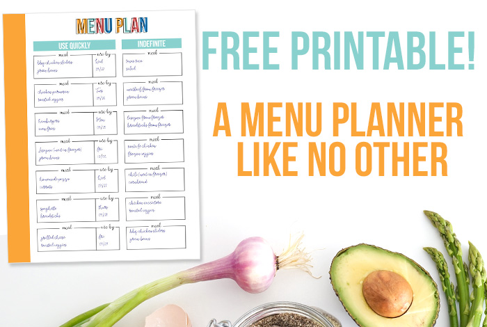Free Printable Meal Planner Like No Other
