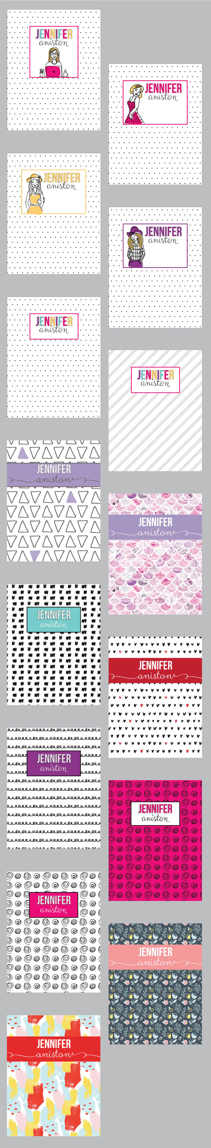 Custom Printable Planner Cover I Heart Planners