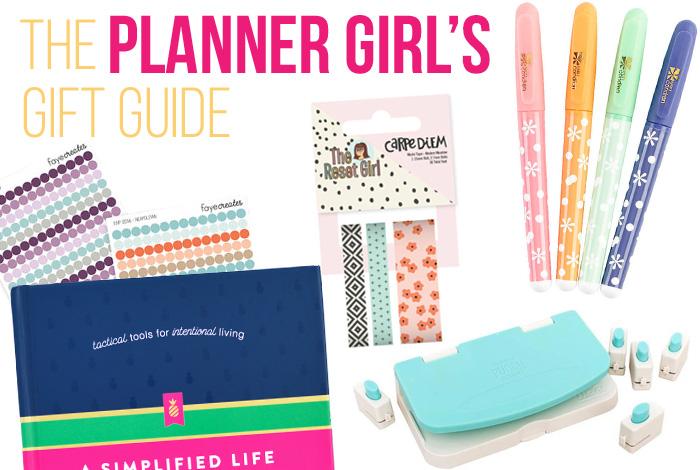 The Planner Girl's Gift Guide