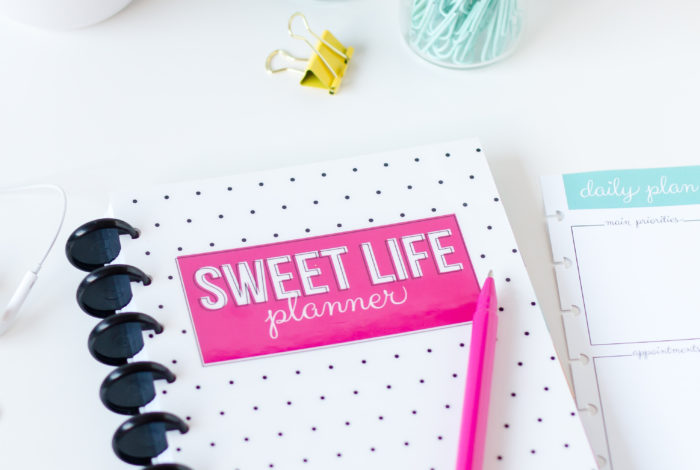 The Sweet Life Planner is here!