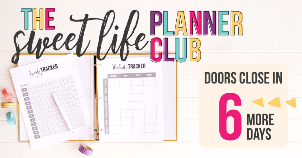 Fitness Planner Printable