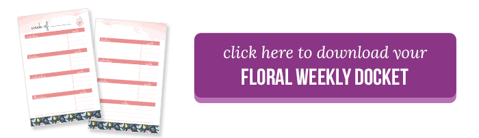 Floral Weekly Docket