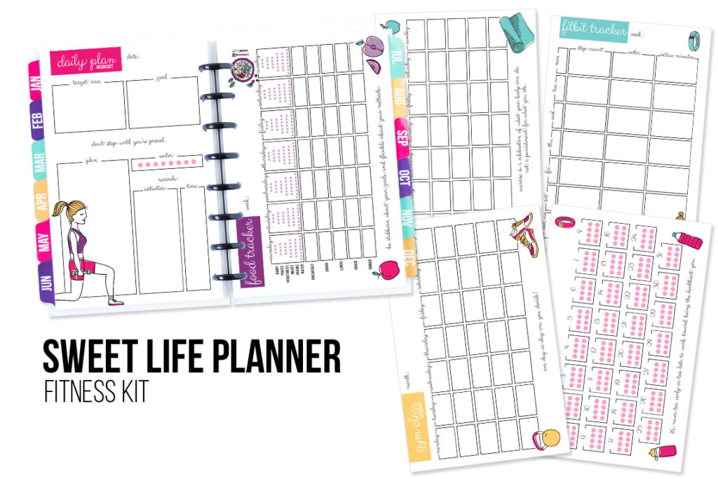 picture about Free Printable Fitness Planner titled Physical fitness Planner Printable - I Centre Planners