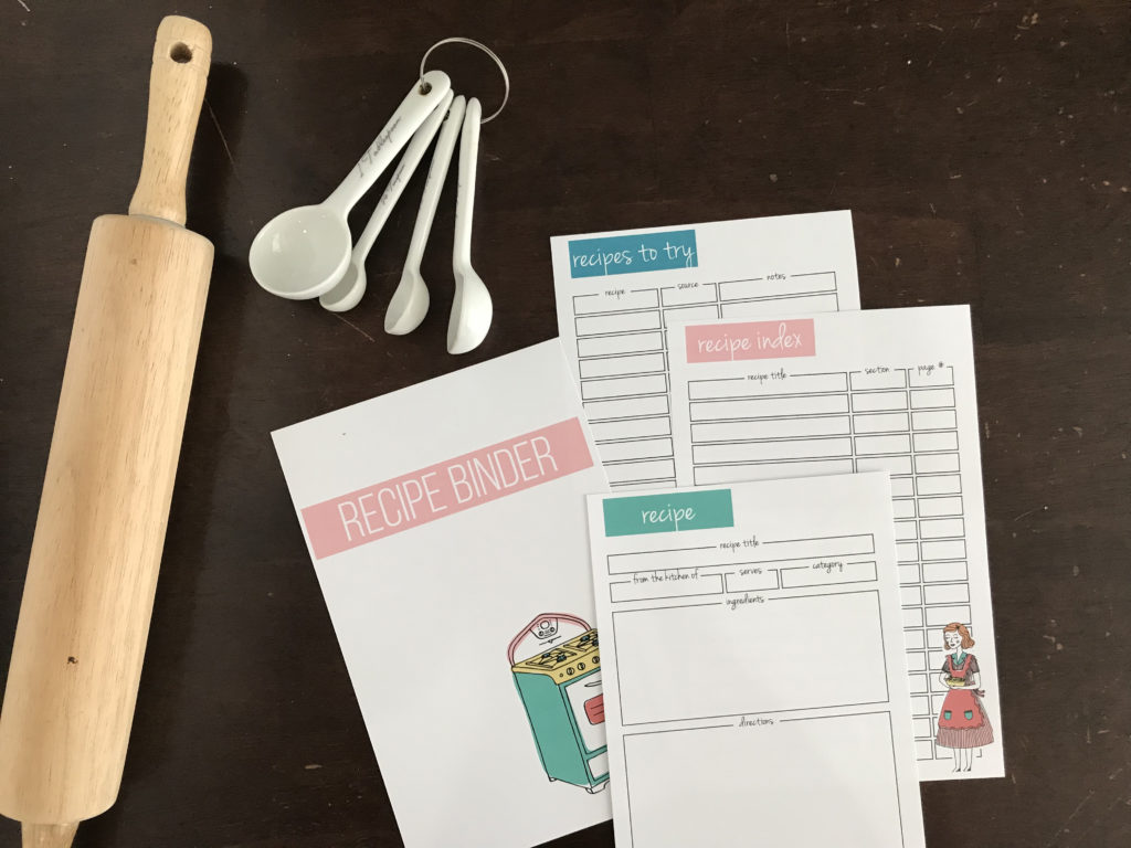 Kitchen Printable Kit
